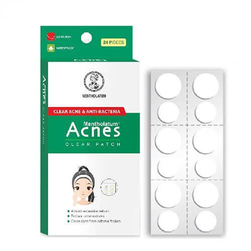 mieng dan mun acnes clear patch nhat ban den tu cong ty rohto
