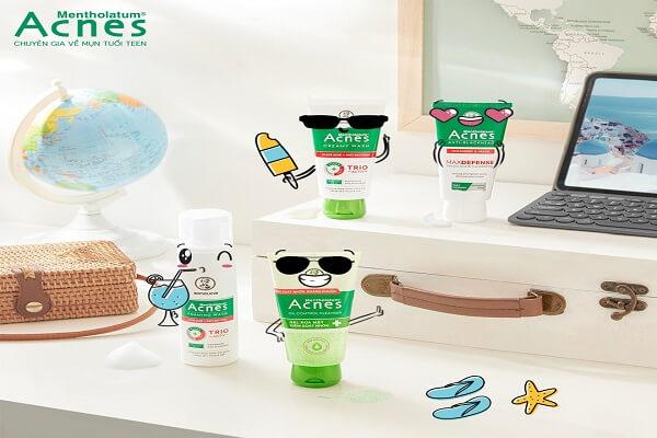 Sữa rửa mặt Acnes Oil Control Cleanser giúp bạn kiểm soát nhờn hiệu quả