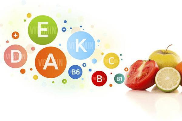 Các vitamin trong điều trị sẹo mụn