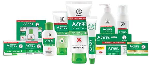 Sản phẩm đến từ thương hiệu Acnes