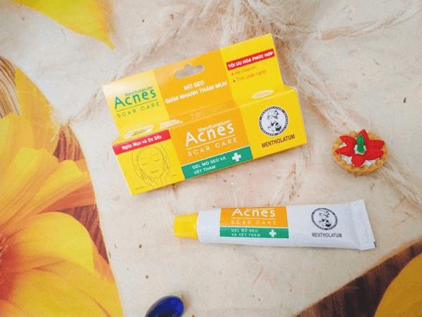 Sử dụng nghệ điều trị sẹo thâm hiệu quả cùng Acnes
