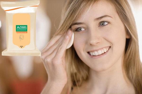 Acnes Make-up Remover Sheet- bạn đồng hành thân thiết của các bạn gái