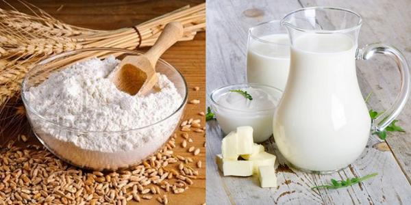 Hỗn hợp bột gạo với sữa chua Cách trị mụn đầu đen tại nhà an toàn hiệu quả nhất