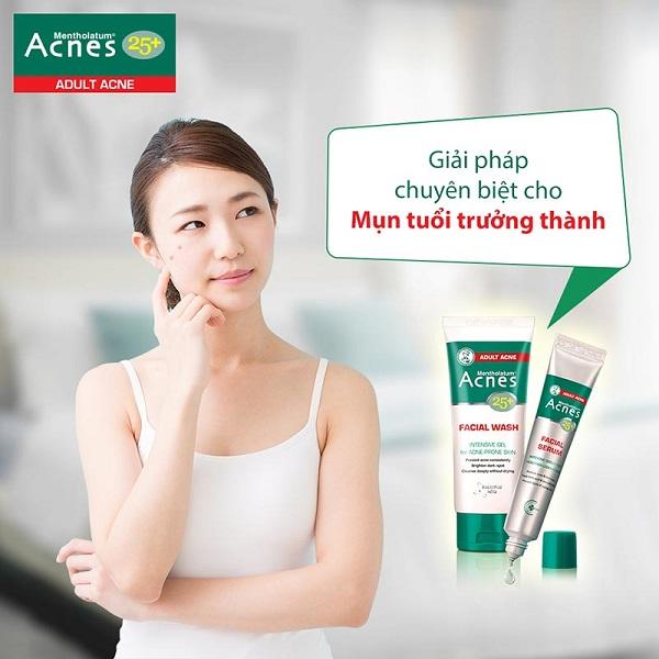 "Acnes 25+ Facial Serum - Đánh tan làn da ""lão hóa"""